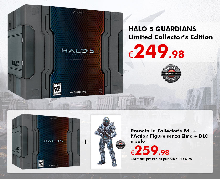Halo 5 guardians limited edition amp limited collector s edition box