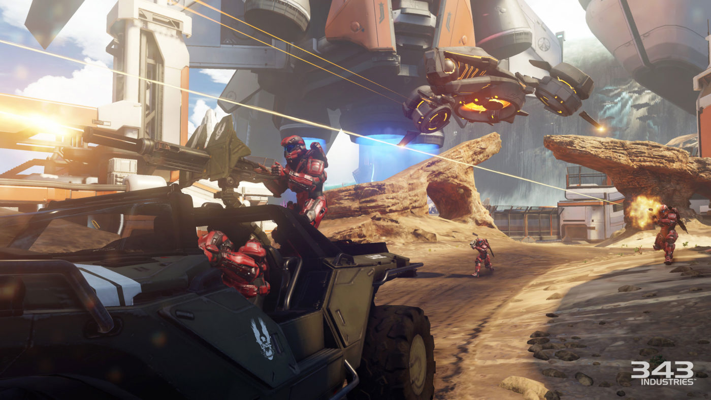 343 Industries Reveals New 24-Player Halo 5: Guardians Multiplayer
