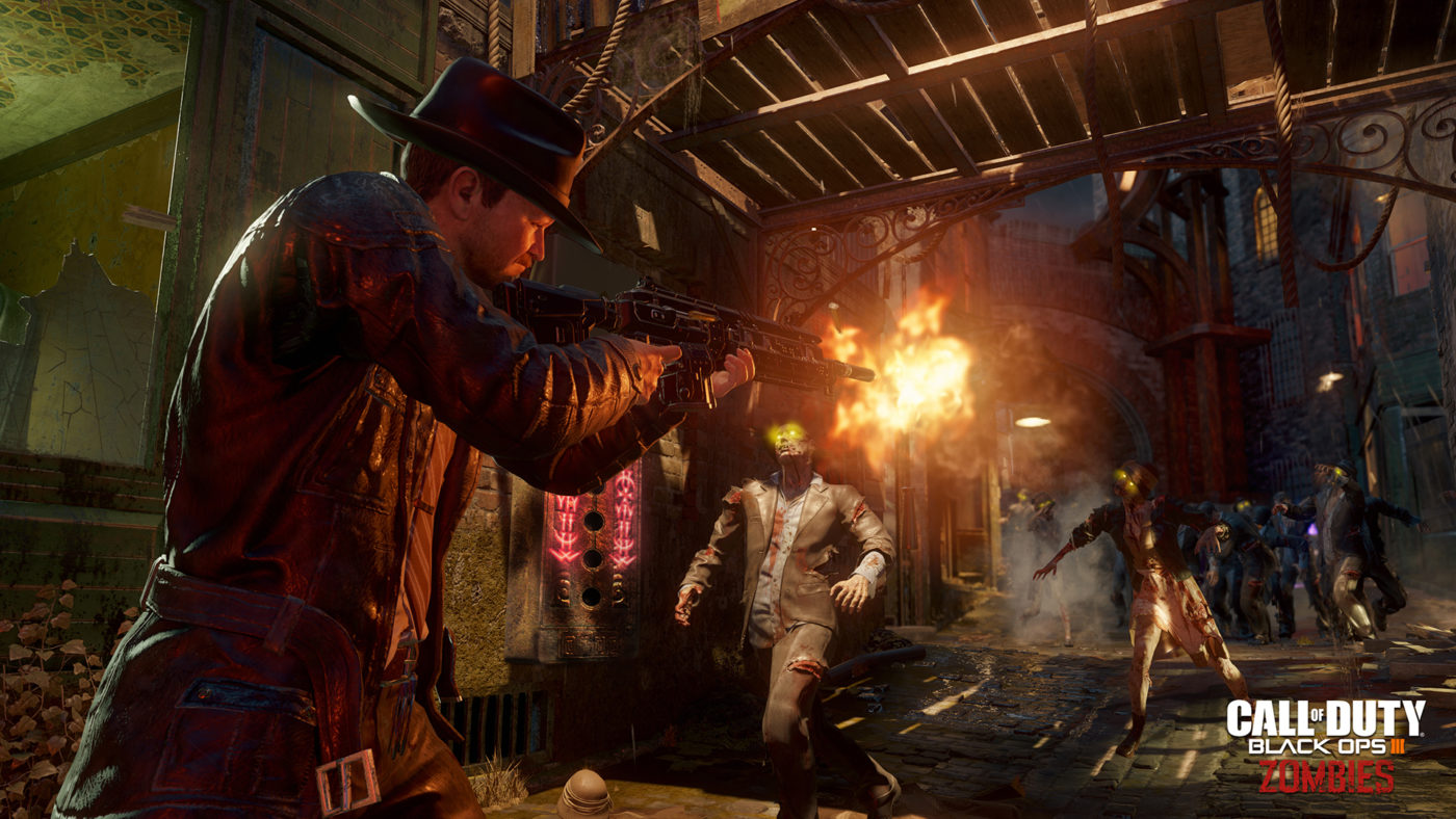 Call Of Duty Black Ops 3 Zombies Shadows Of Evil The Giant