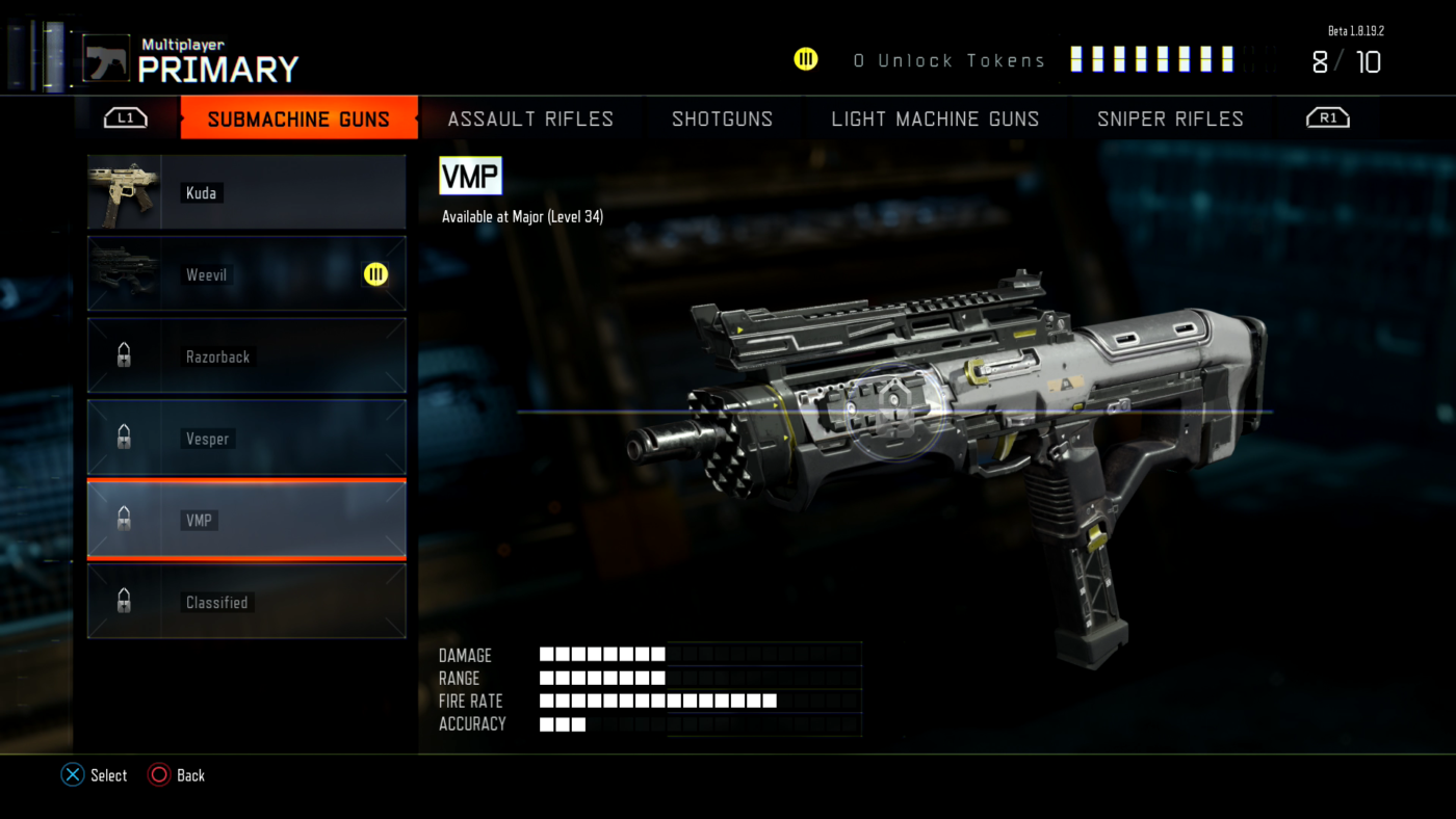 Call Of Duty Black Ops 3 Beta All Weapons Attachments