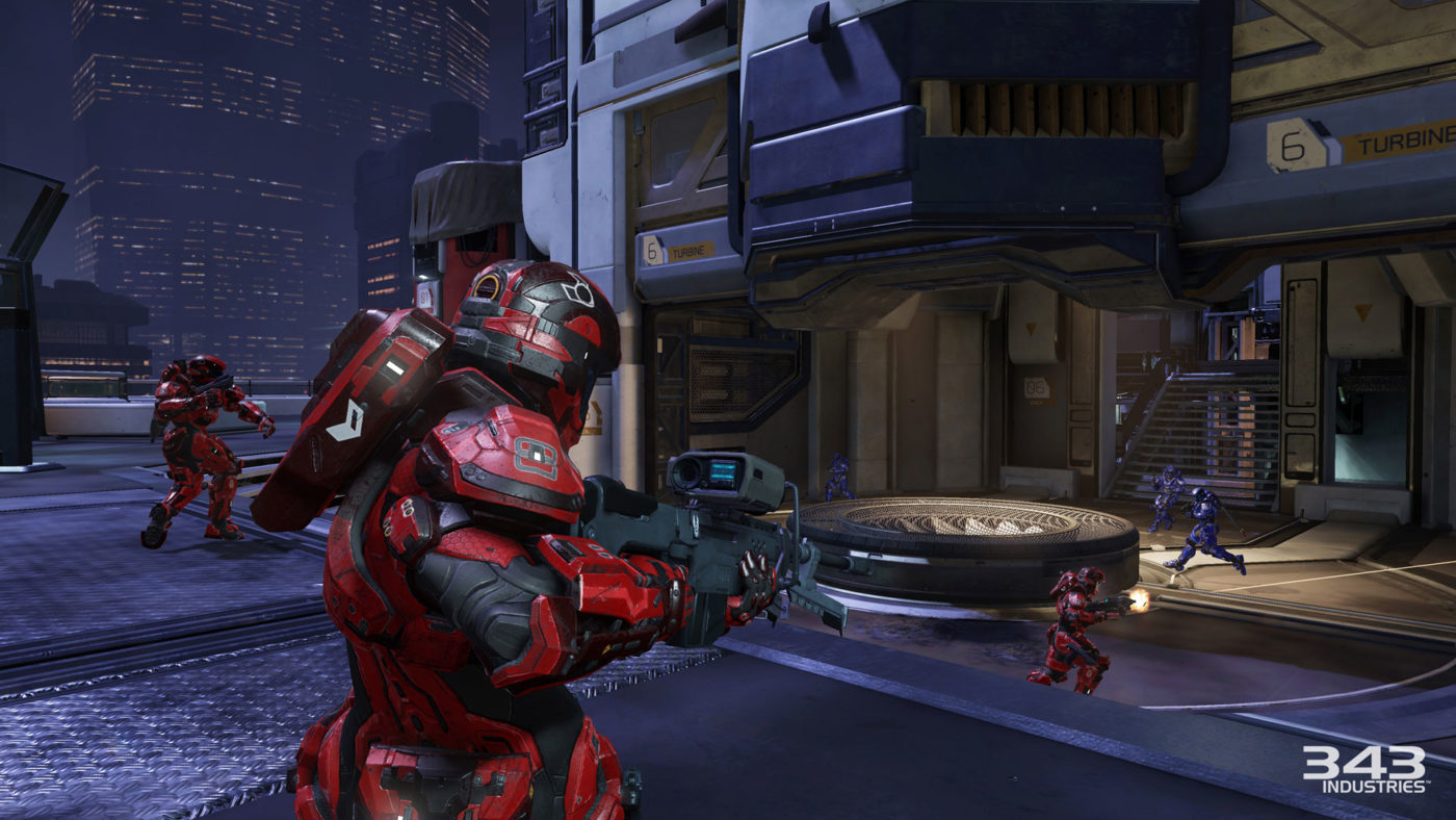 New Halo 5: Guardians eSports Features Highlighted In ... Xbox One Halo 5 Gameplay