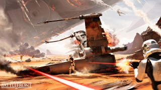 Battle of Jakku DLC Brings New 40-Player 'Turning Point' Mode To Star Wars Battlefront