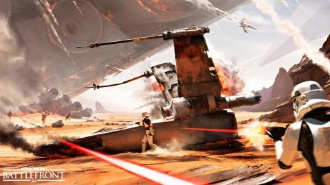 Battle of Jakku DLC Brings New 40-Player 'Turning Point' Mode To Star Wars Battlefront