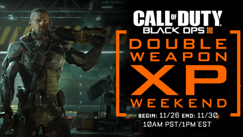 Call of Duty: Black Ops 3 Gets Double Weapon XP This Weekend