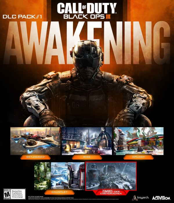 ", Treyarch Reveals Black Ops 3's First Map Pack, ""Awakening,"" Arriving Early 2016 First On PS4, MP1st, MP1st"