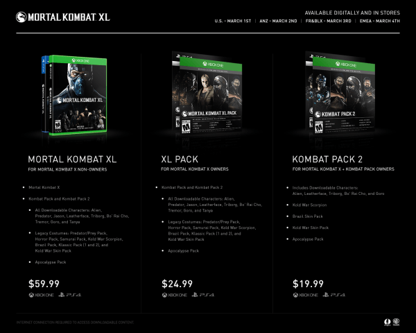 , Mortal Kombat XL Cover Art Revealed With New Details On Pricing, MP1st, MP1st