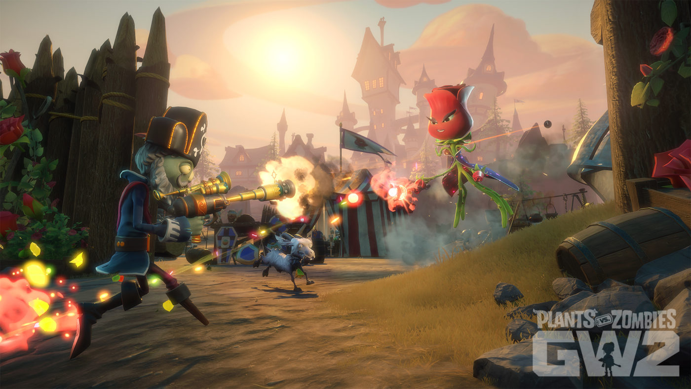 Pvz Garden Warfare 2 Popcap Teases Upcoming Graveyard Variety Dlc Ad Rose Nerf