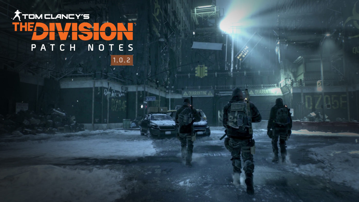 The Division Update 1 0 2 Promises Better Loot Drops & Improved Dark