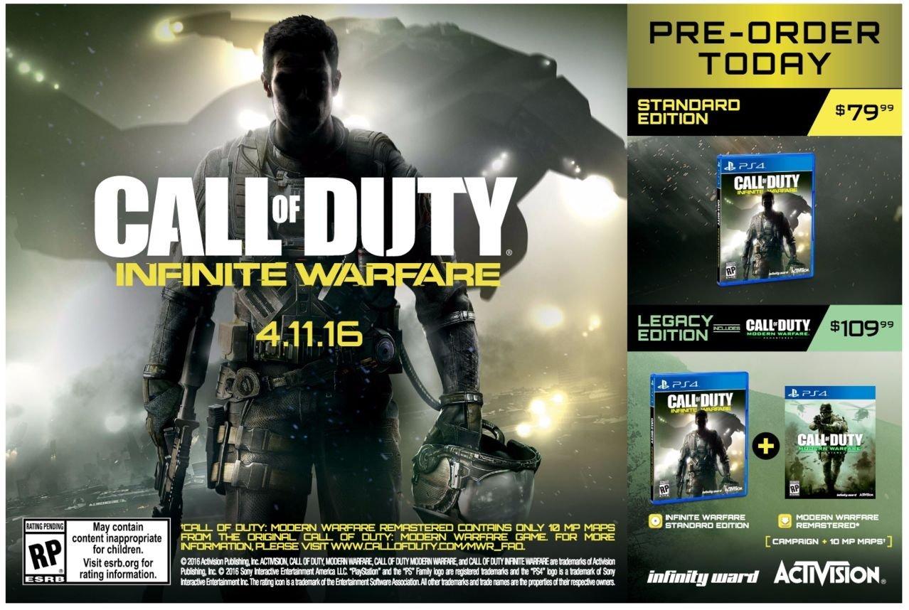 , New Call of Duty: Infinite Warfare Leak Confirms Multiplayer For Modern Warfare Remake, MP1st, MP1st