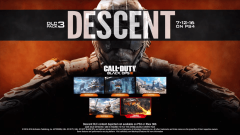 "Call of Duty: Black Ops 3 ""Descent"" DLC Arrives On PlayStation 4 Mid-July"