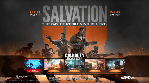 Treyarch Reveals Call of Duty: Black Ops 3 'Salvation' DLC With New Trailer & Details