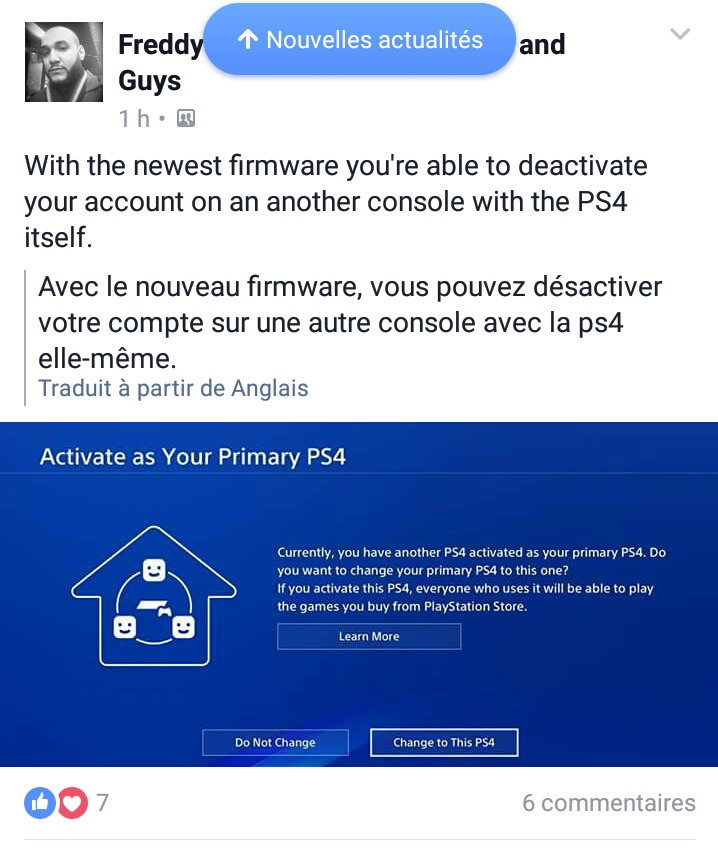how to turn of primary ps4