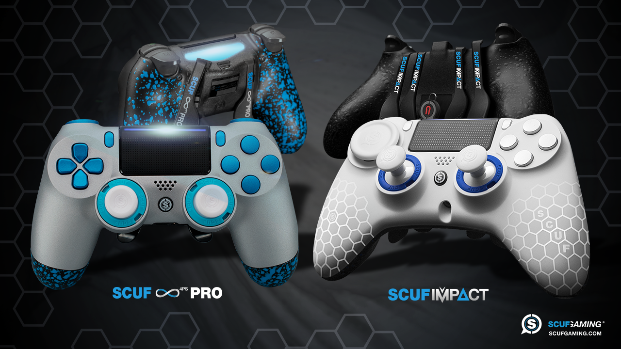 Scuf impact scuf infinity 4ps pro we review scuf for Housse manette ps4