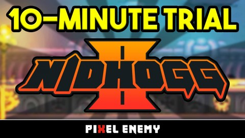 "Nidhogg 2 ""10-Minute Trial"" Video Explores Crazy 1v1 Combat"