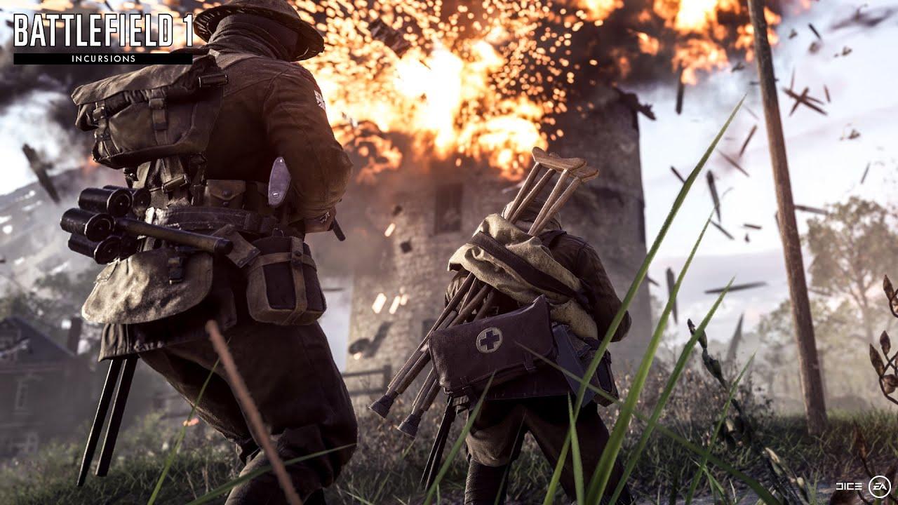battlefield 1 incursions mode