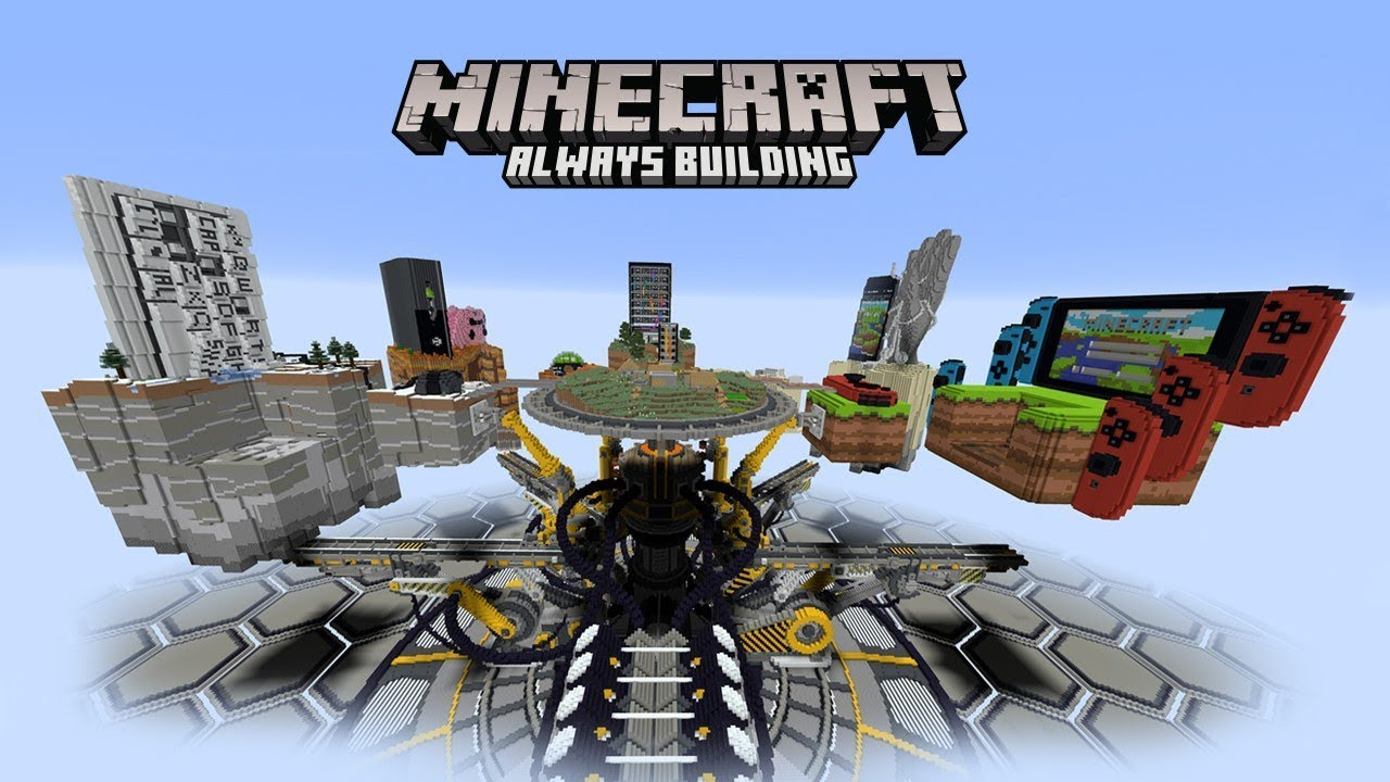 Minecraft is now available for cross-play on any device ...