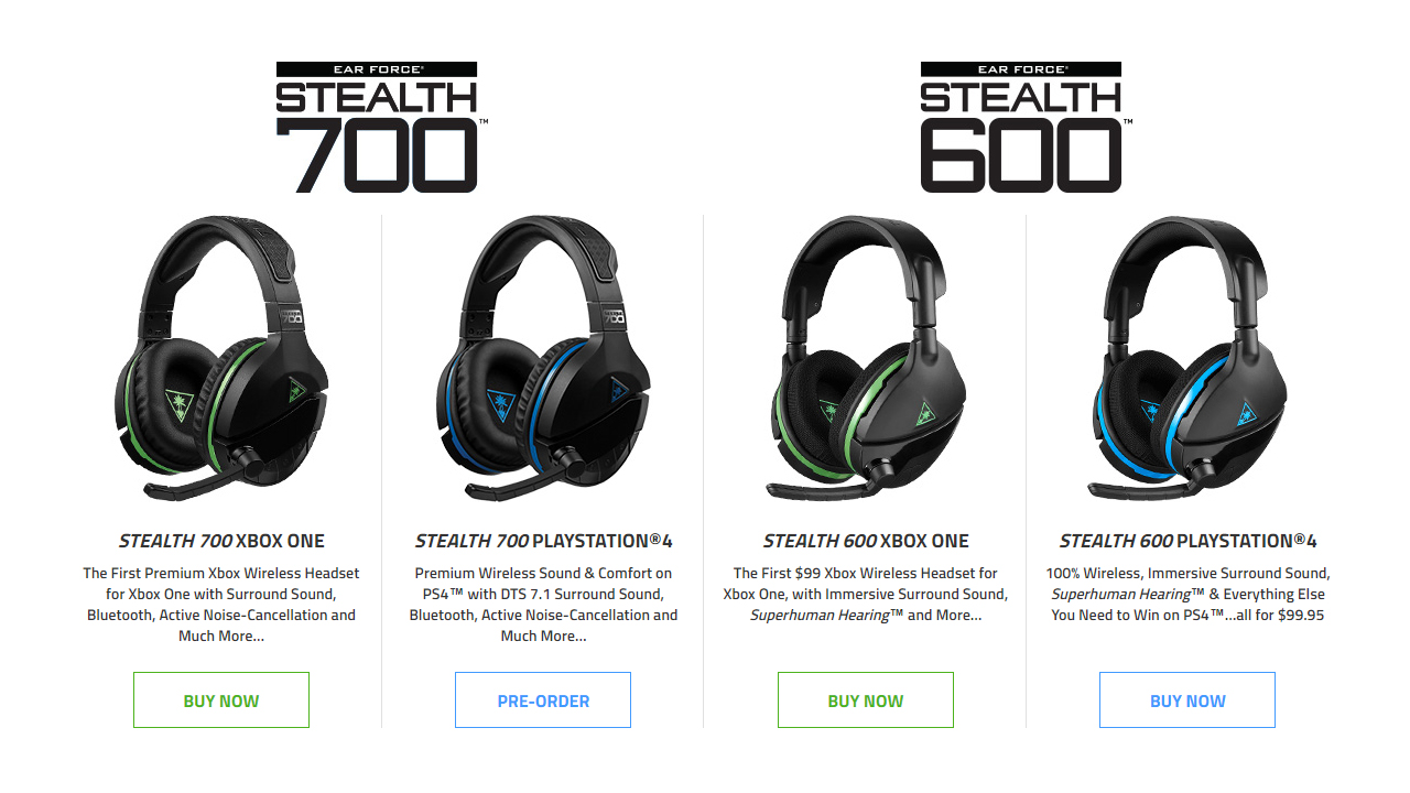 Turtle Beach Stealth 700 & Stealth 600 Headsets Announced