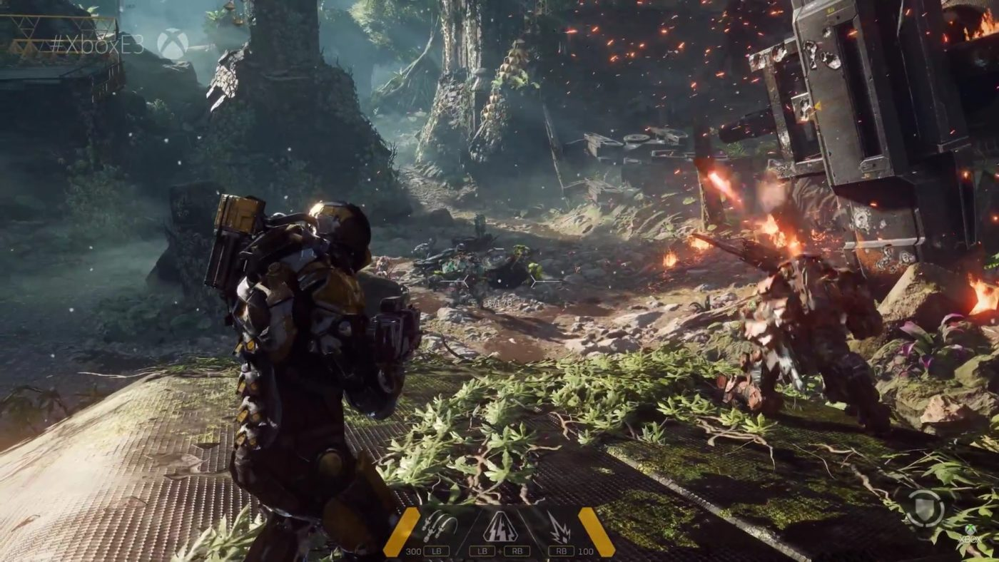 anthem game demo