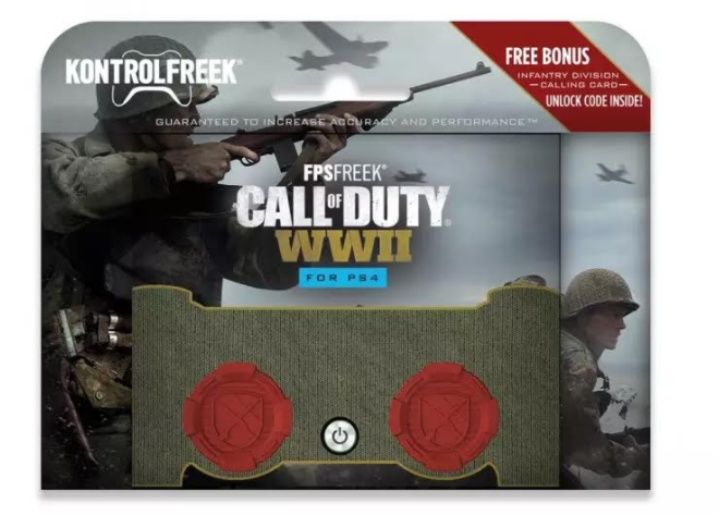 COD WW2 Kontrol Freek Includes Exclusive Division Calling Card