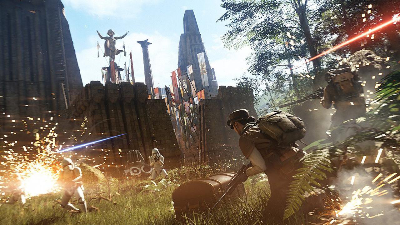 Star Wars Battlefront II Galactic Assault On Takodana Gameplay Described
