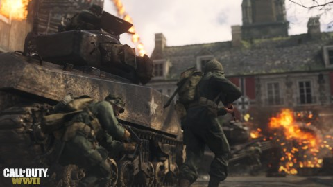 call of duty ww2 file size