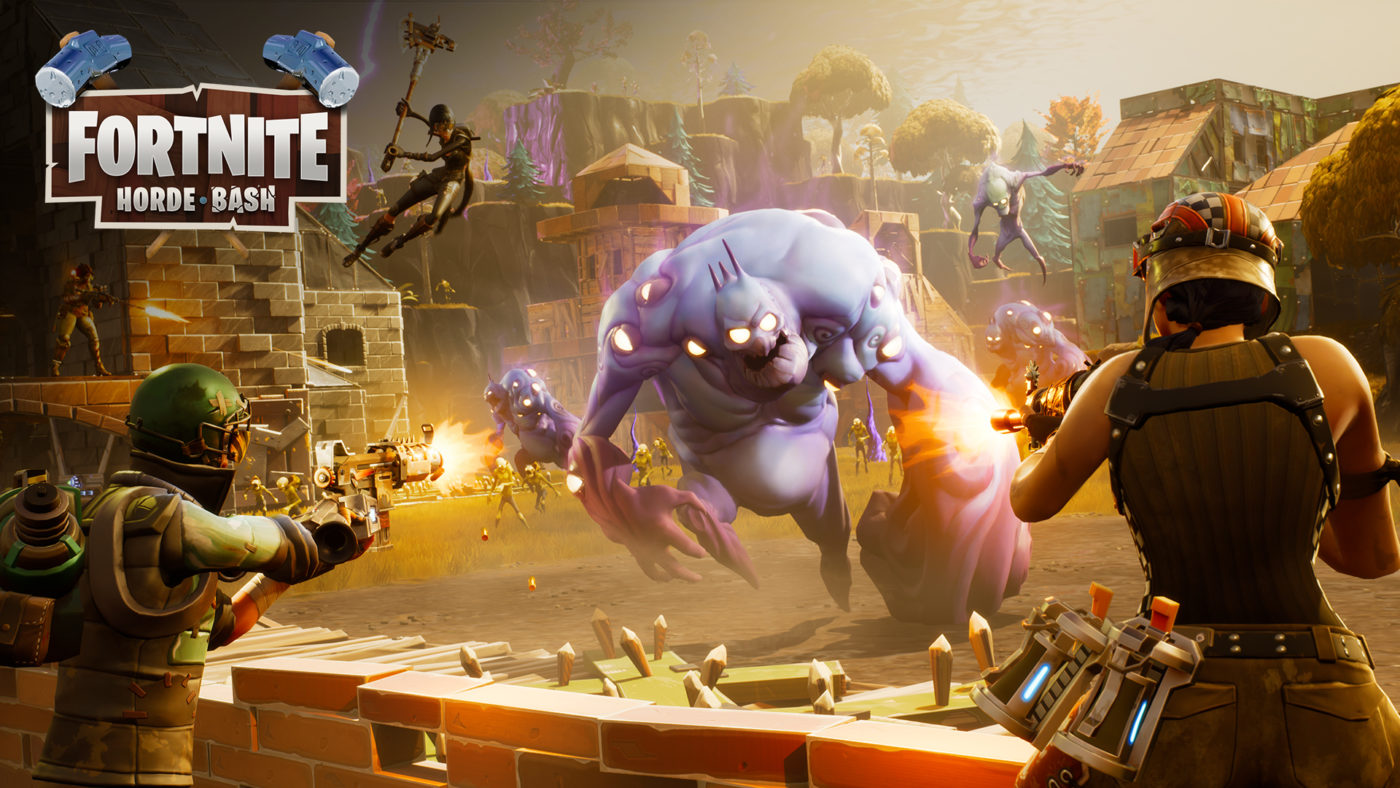 Fortnite update adds horde mode fixes for battle royale for Fond ecran fortnite