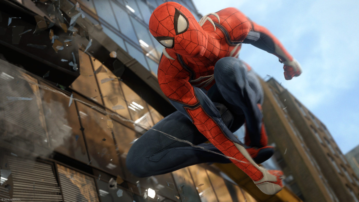 New 'Spider-Man' PS4 trailer revealed at Paris Games Week