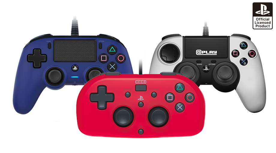PS4 gets three new compact controllers next month