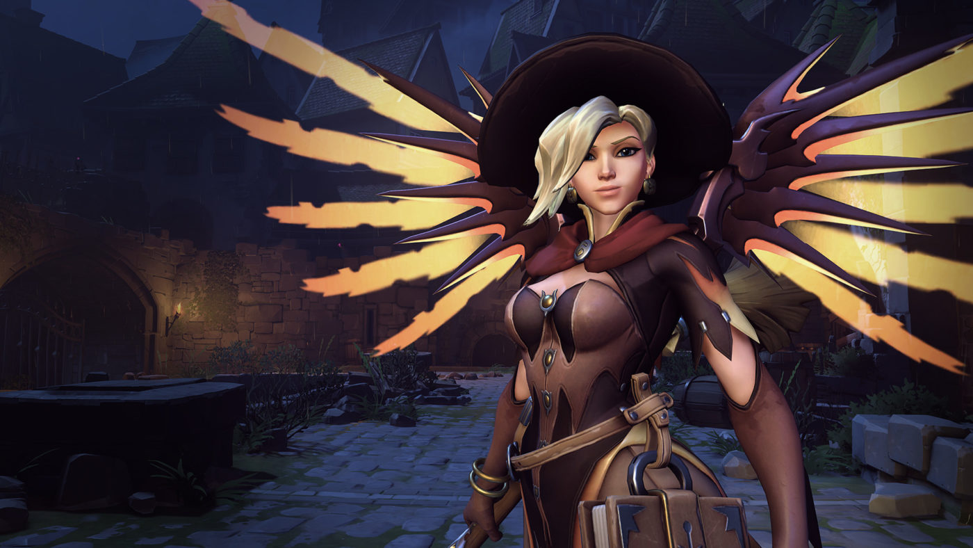 New Halloween Mercy changes for PS4, Xbox One and PC