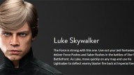 star wars battlefront 2 luke skywalker gameplay