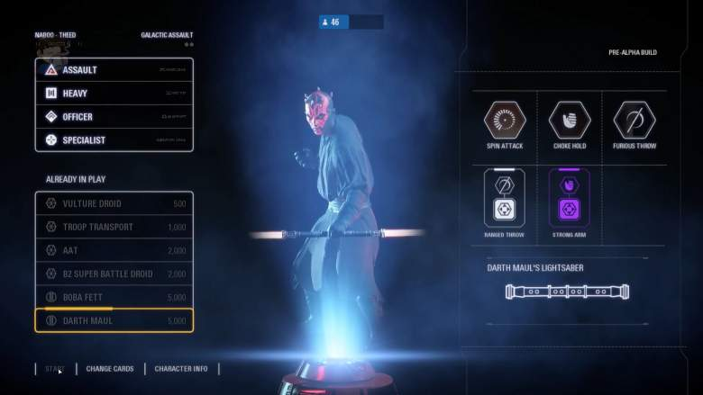 Star Wars Battlefront II Heroes Skills Emotes Poses Available In The Beta