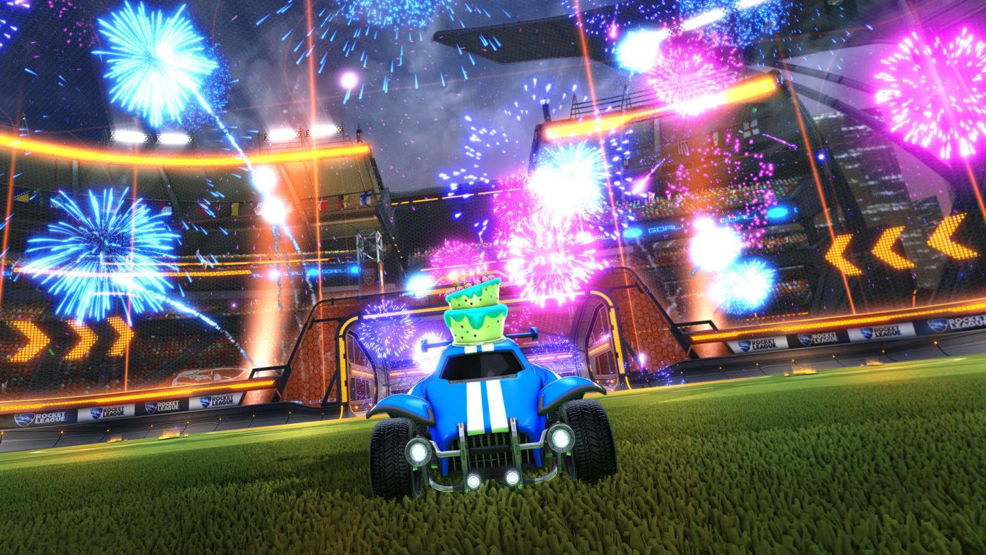 rocket league cross platform party