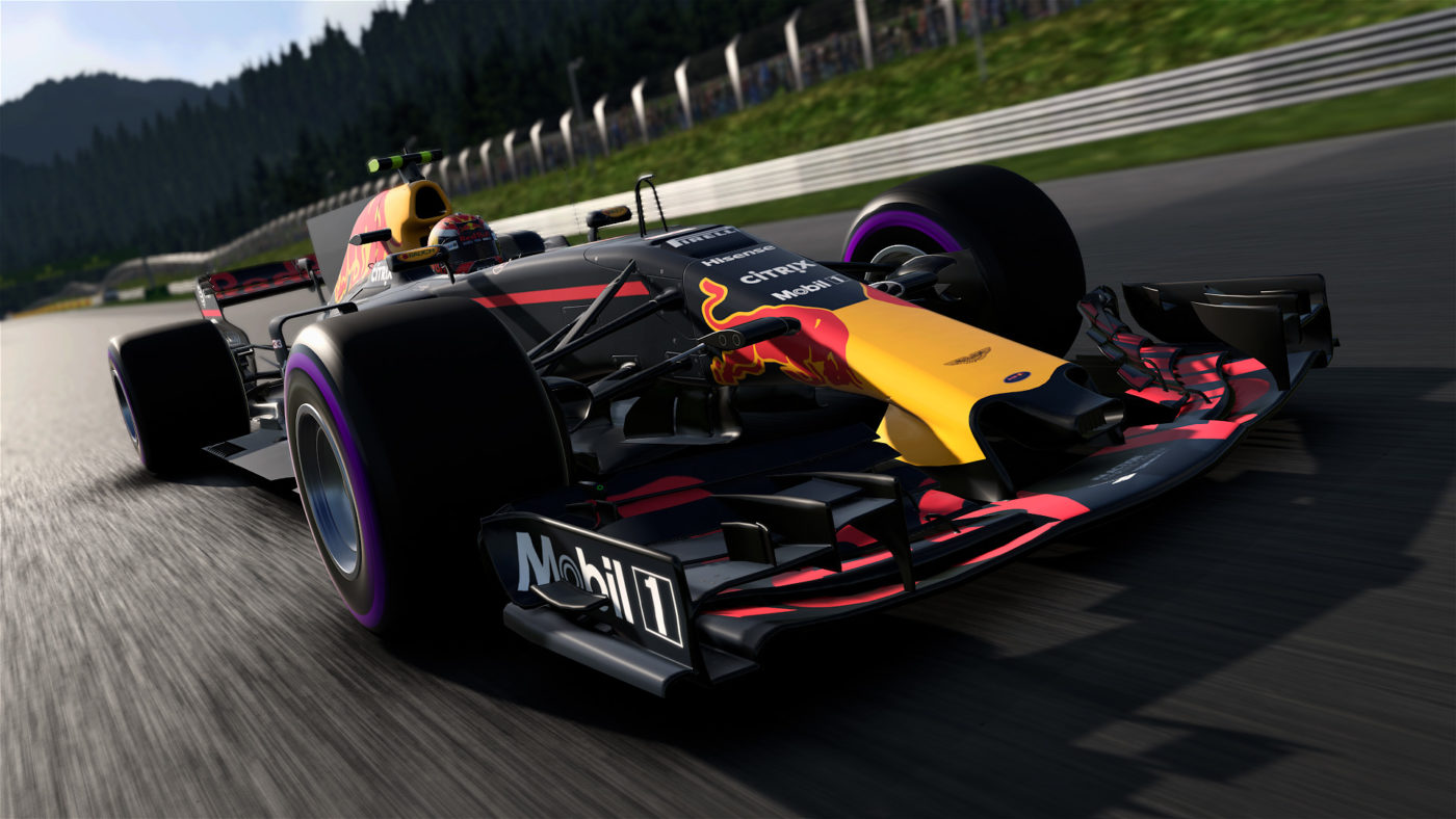 f1 2017 update adds xbox one x support fixes frustrating. Black Bedroom Furniture Sets. Home Design Ideas