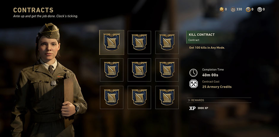cod ww2 contracts bug fix