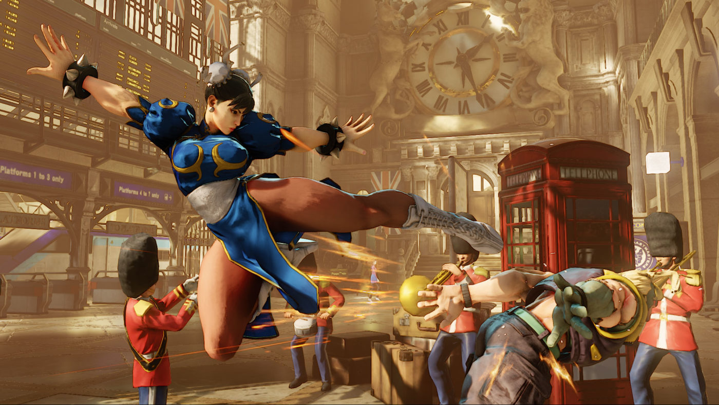 Street Fighter V Arcade Edition Release Time