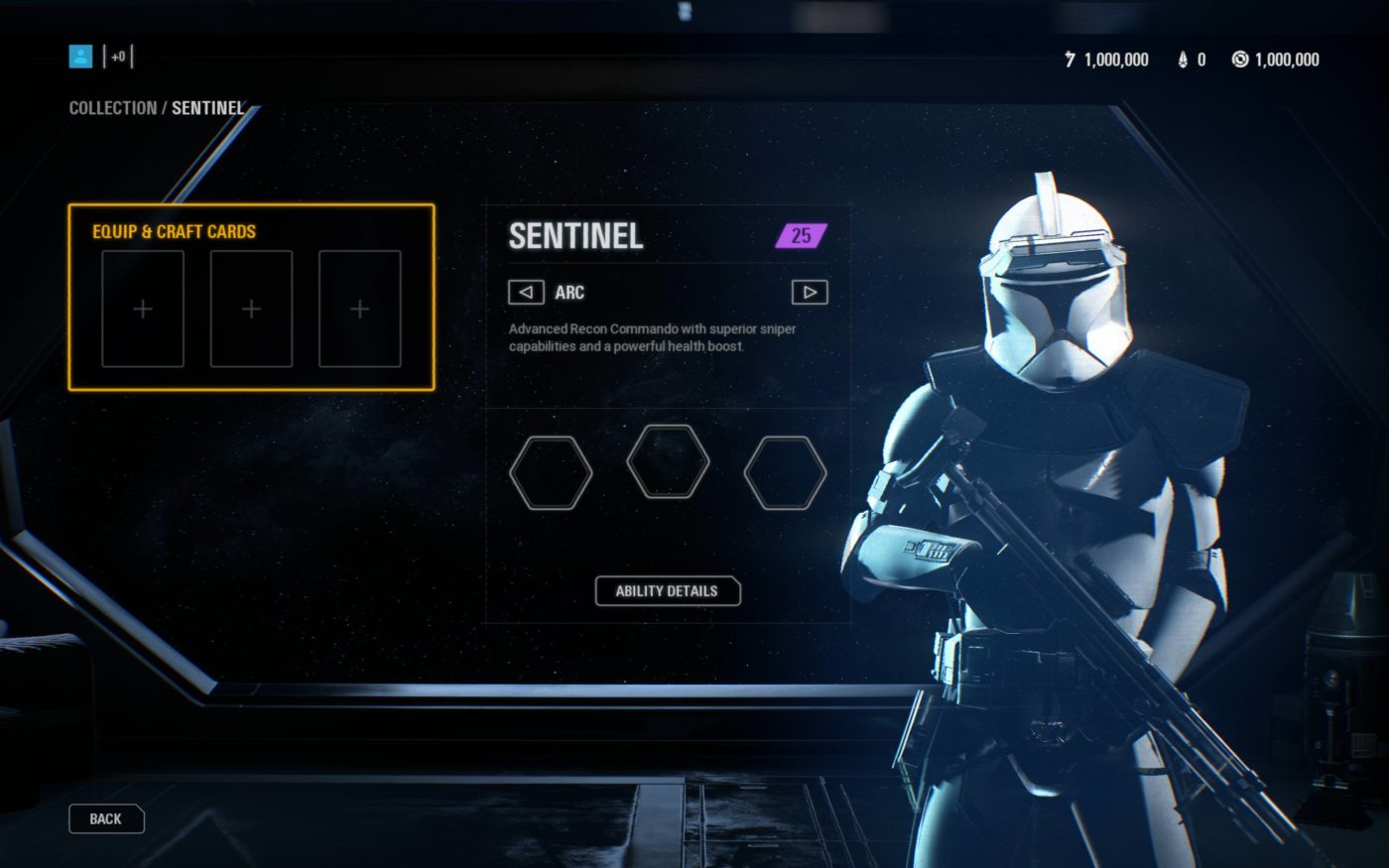 """Report: Star Wars Battlefront II Arc Trooper Class Leaked, Called the """"Sentinel"""""""