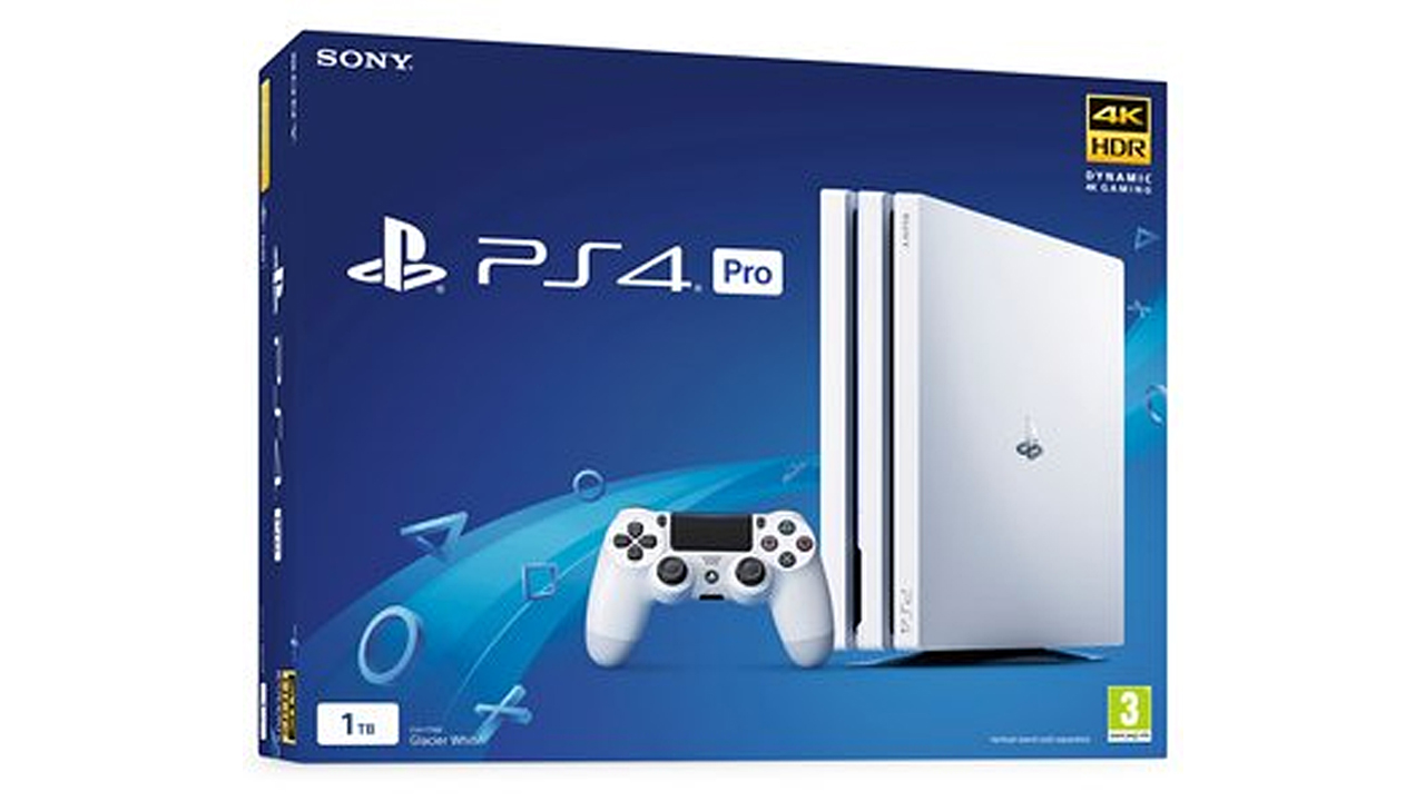 White Ps4 Pro Console Standalone Launching Next Week