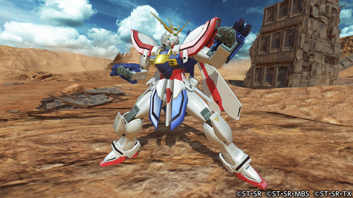 Gundam Versus Is Getting Burning and Master Gundam Next Month
