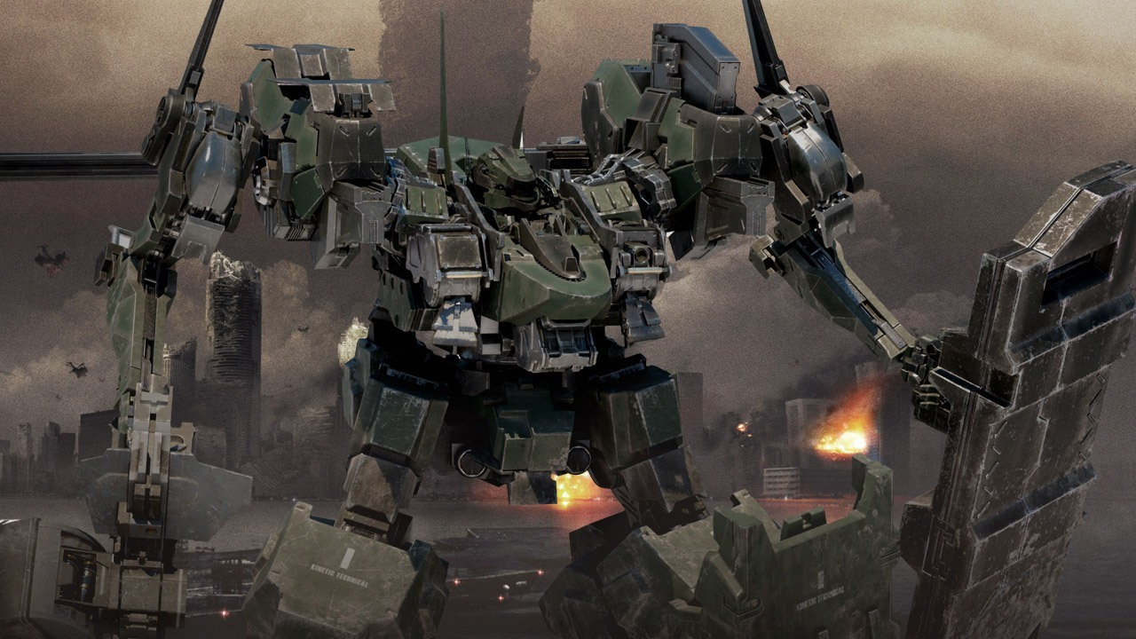 Armored Core Won't End In Its Current State Says From Software