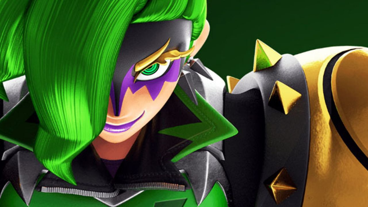 Arms gets another new fighter: the evil Dr. Coyle""
