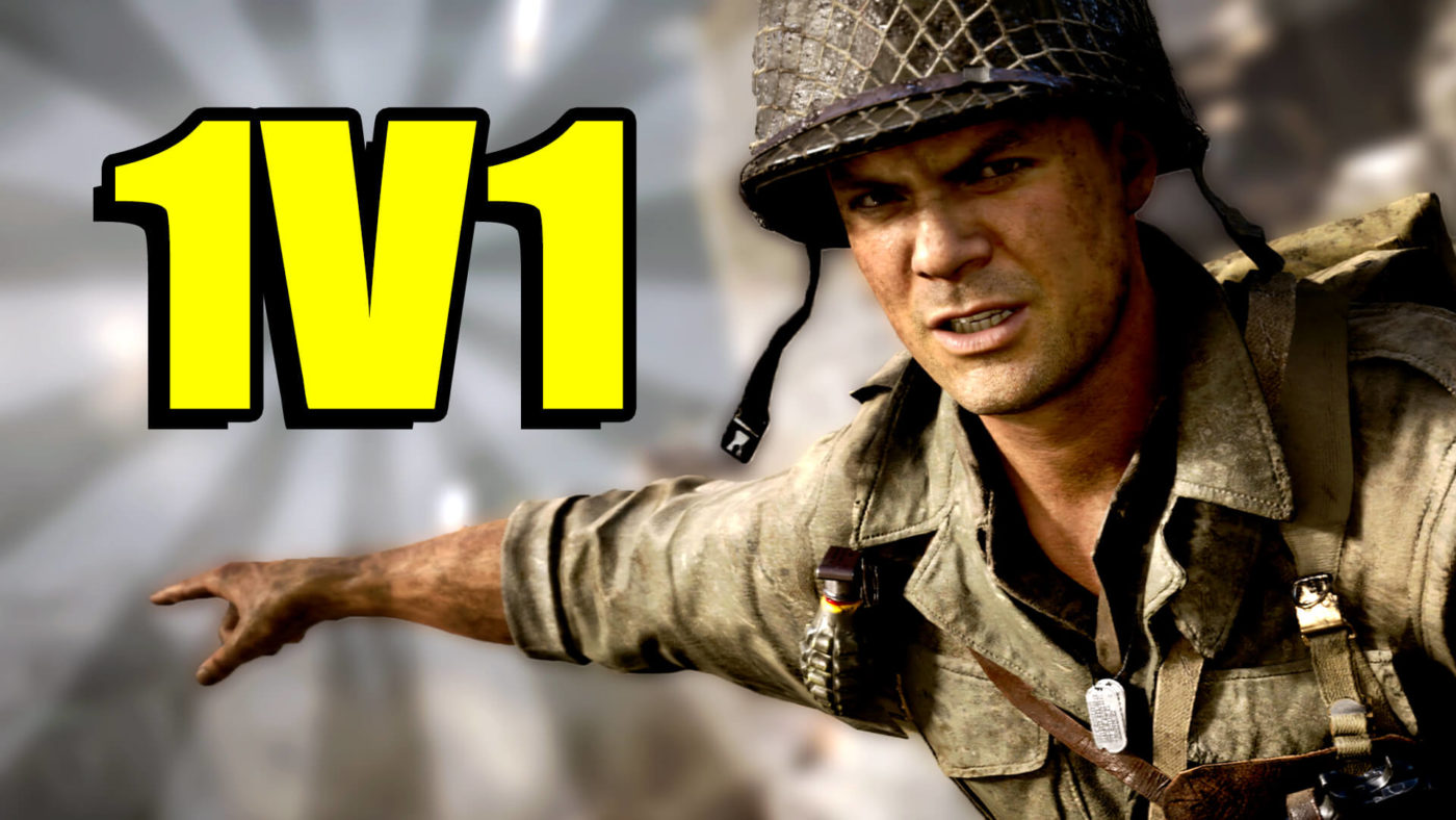 Call of Duty: WWII – 20 Win Streak in The 1v1 Pit