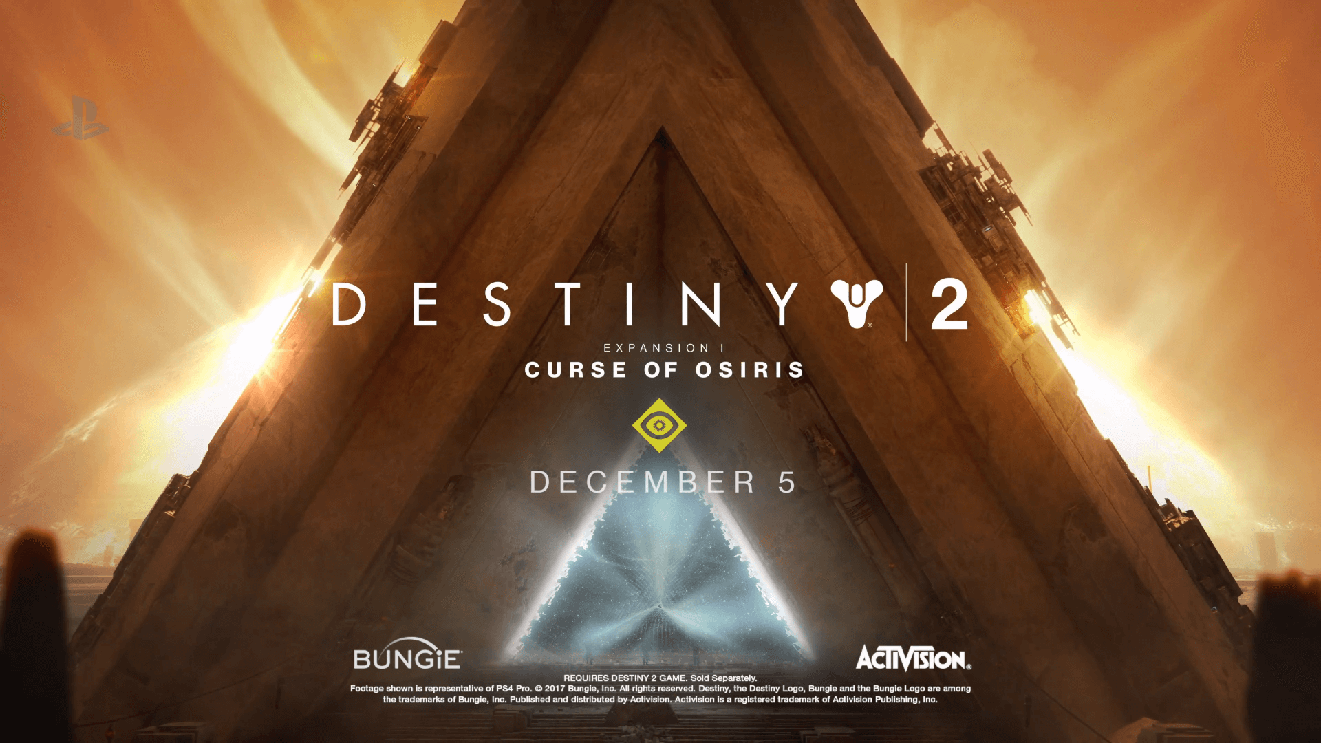 Destiny 2 Update 1 1 0 Is Now Live, Adds Curse of Osiris DLC