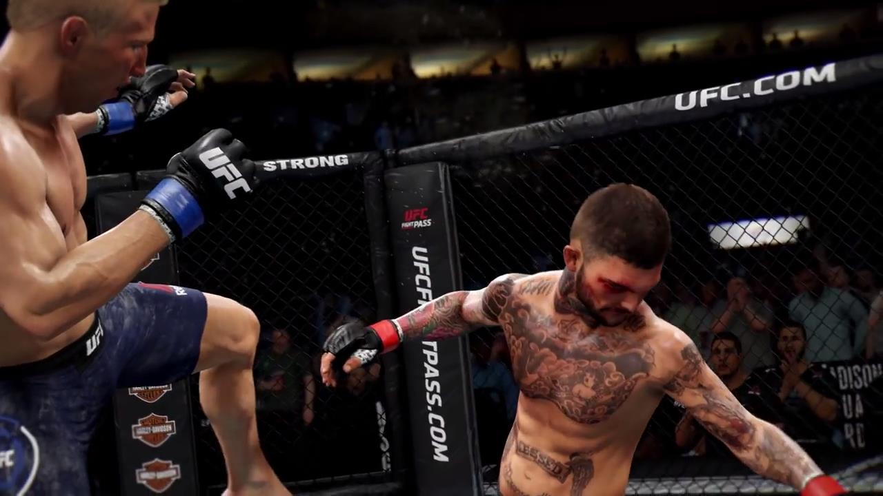 ea ufc 3 vs ufc 2 graphics showdown presents a close fight. Black Bedroom Furniture Sets. Home Design Ideas