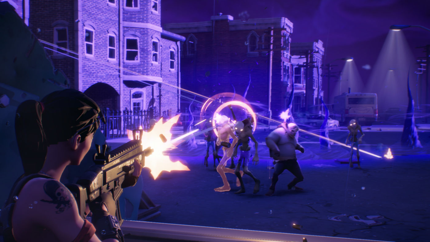 TGA 2017 Fortnite New Mode Revealed Features 50v50 PvP Battles