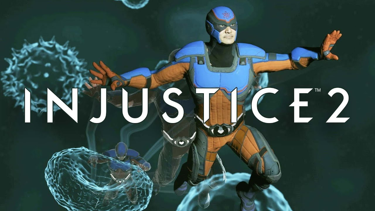 The Atom looks great in Injustice 2