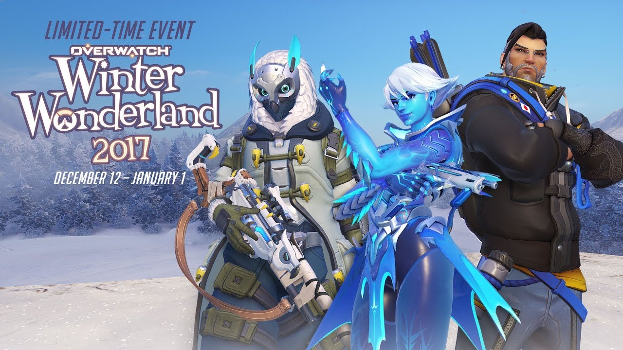 Overwatch Winter Wonderland Event Live, New Trailer And Every Skin Revealed!