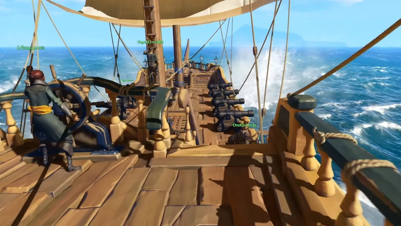 Sea of Thieves gets a release date and a new trailer