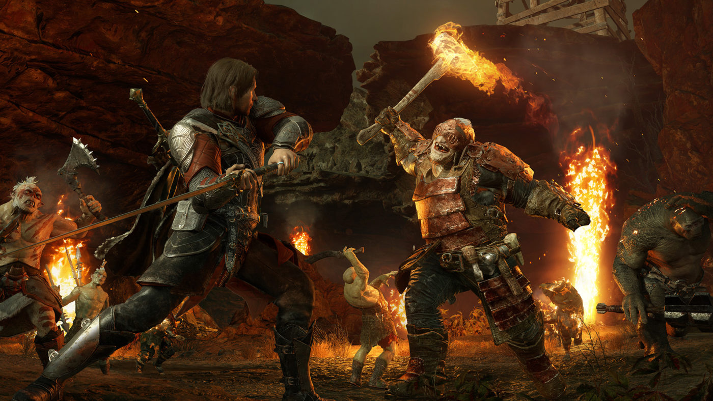 Shadow of War Update Adds Online Fight Pits Improves Fight Pit Pacing & More