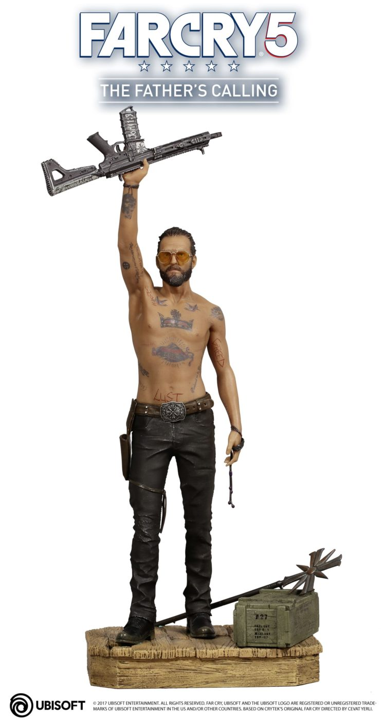 Far Cry 5 Figurine of the Game's Cult Leader Now Up for Pre-Order, Here's What It Looks Like