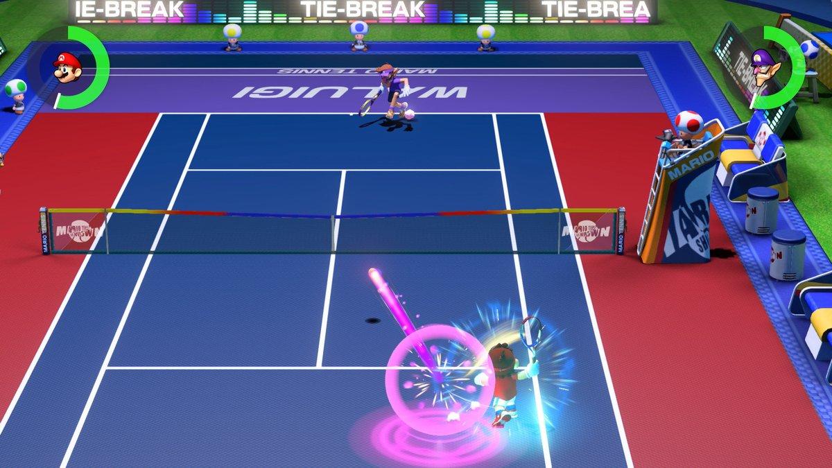 Nintendo Announces Mario Tennis Aces for Nintendo Switch